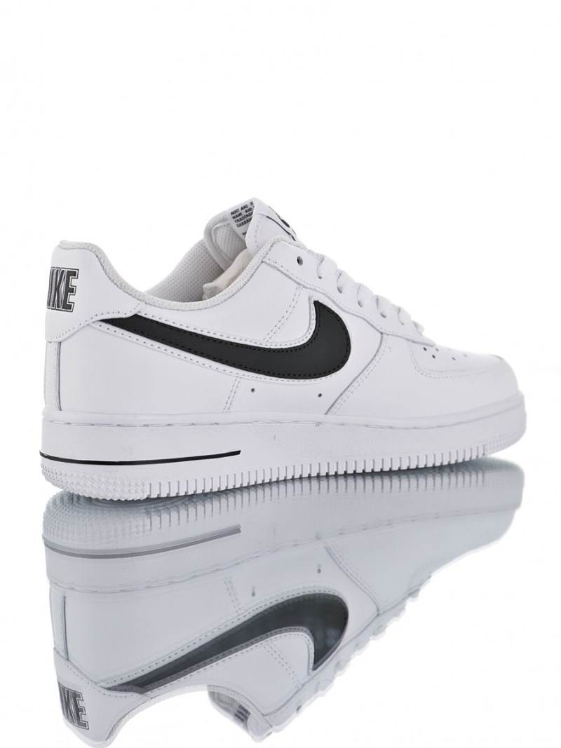 Nike Air Force 07 Blanco Logo Negro