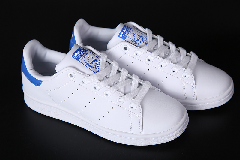 Adidas Stan Smith Blanco y Azul