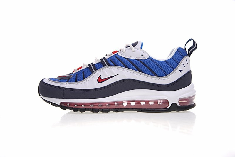 Nike Air Max 98 Blanco y Azul