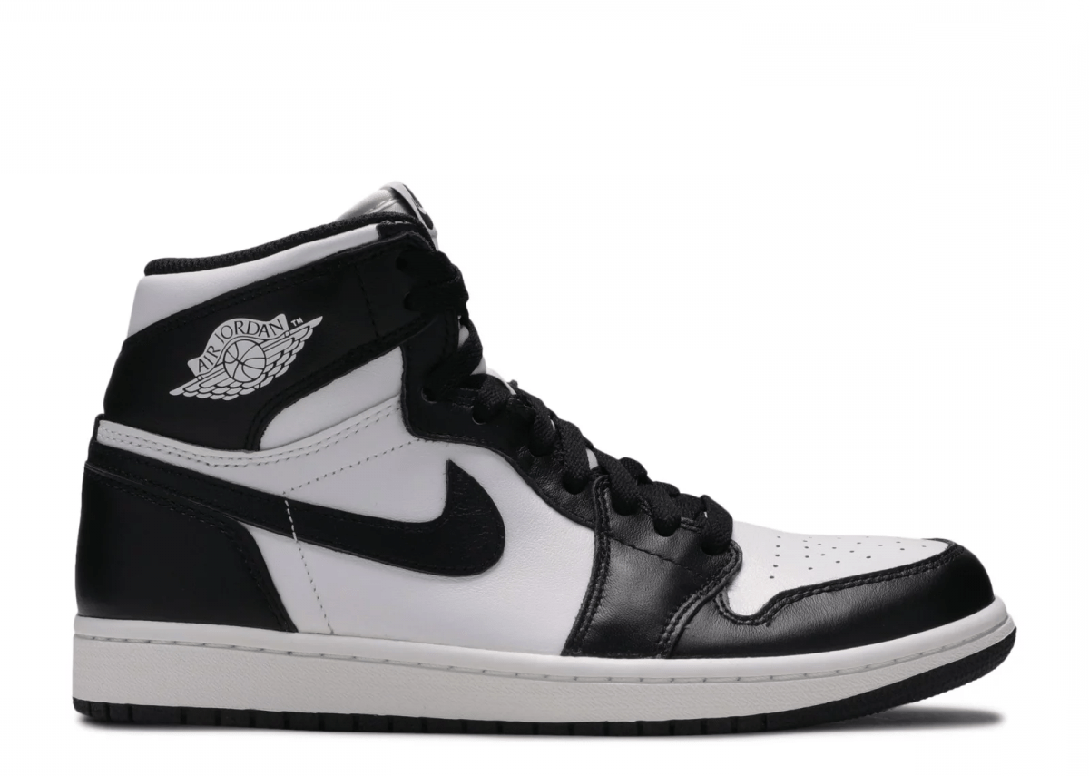 matriz extraer Reproducir  Air Jordan Retro 1 High Blanco y Negro - TeCalzoShoes
