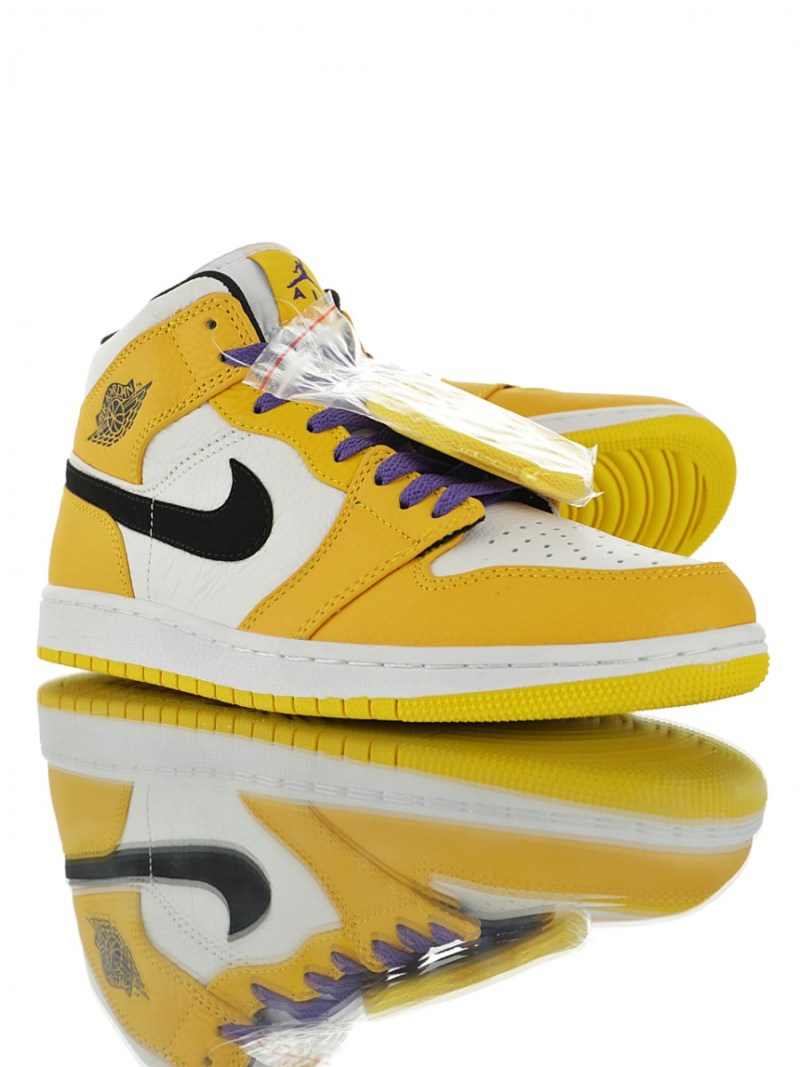 Air Jordan 1 Mid Lakers