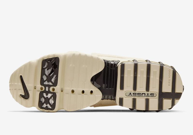 Stussy x Nike Air Zoom Spiridon Cage 2 Fossil