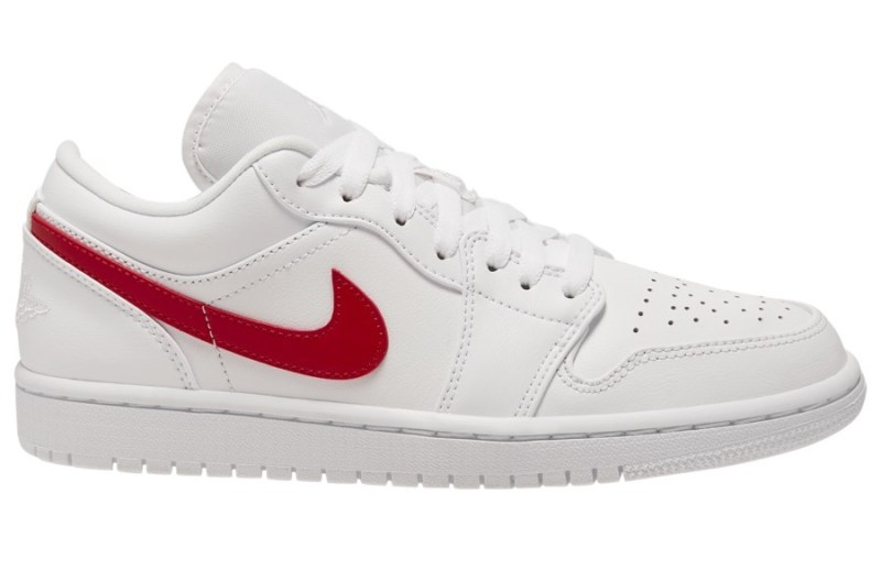 Air Jordan 1 Low University Rojo