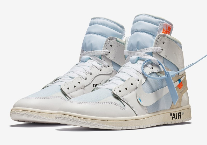 Air Jordan 1 x Off White Blanco