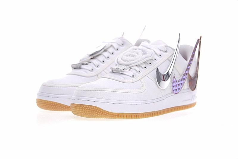 Nike Air Force 1 Travis Scott Platino