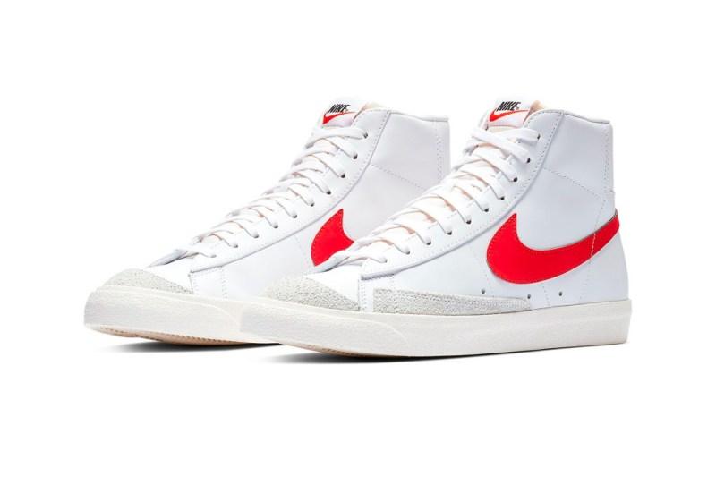 Nike Blazer Mid '77 Vintage Rojo