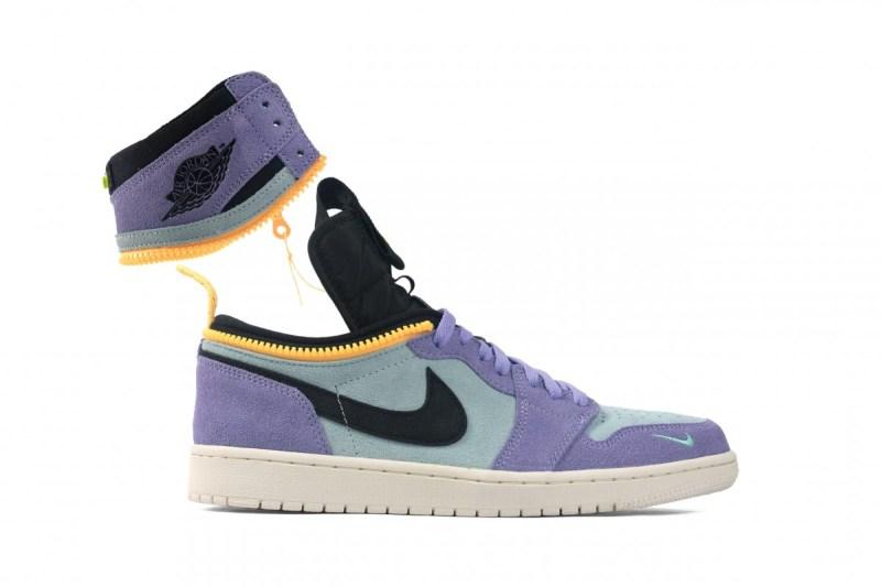 Air Jordan 1 High Switch Purple Pulse