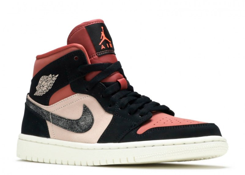 Air Jordan 1 Mid Canyon Rust