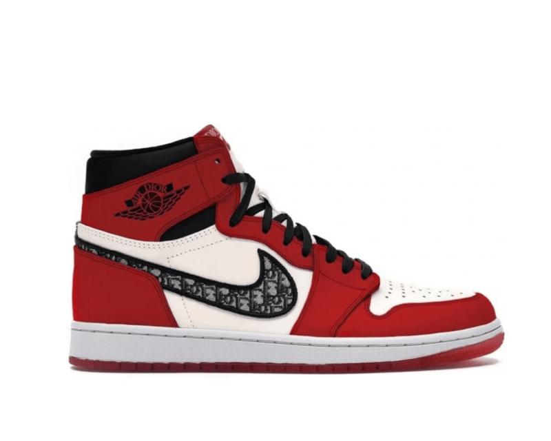 """Dior x Air Jordan 1 High """"2021"""" (Red)"""