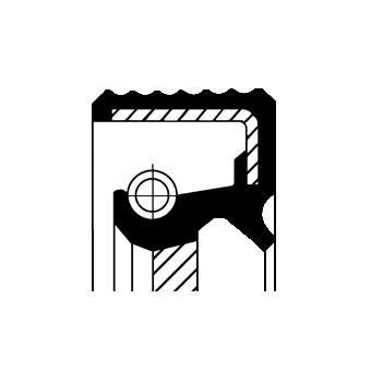 Shaft Seal, crankshaftMERCEDES-BENZ A-CLASS (W169) A 200