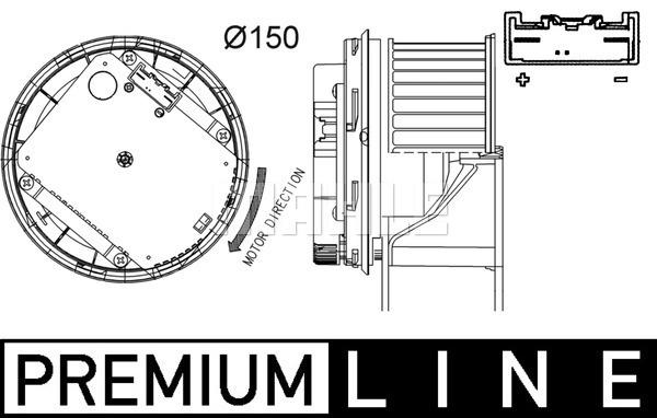 Ignition coil for Volvo S40/V50 (544/545) 04.2007-12.2012