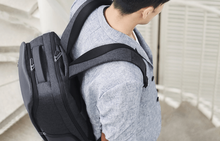 Xiaomi Renewed Her Business Travel Backpack Now With Better Features And Finishes