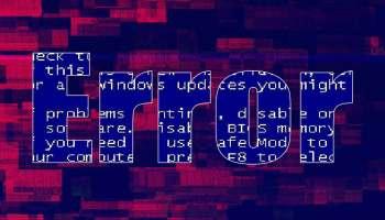 informatique erreur bug panne ordinateur