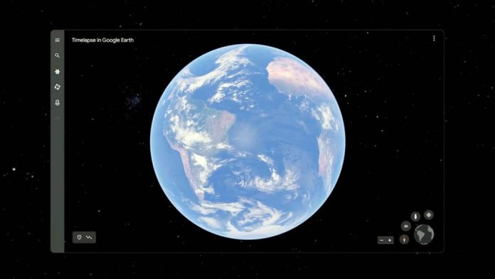 How to use the Timelapse feature in Google Earth