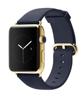 Gold Apple Watch 18K