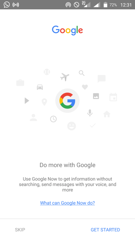 New Google App