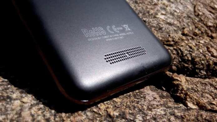 Cubot Note S Rear Speakers