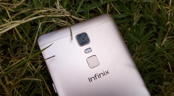 Back Infinix Note 3 Fingerprint