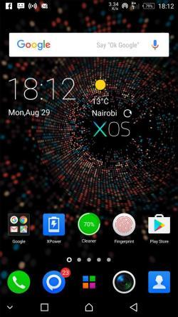 Xlauncher Infinix Note 3