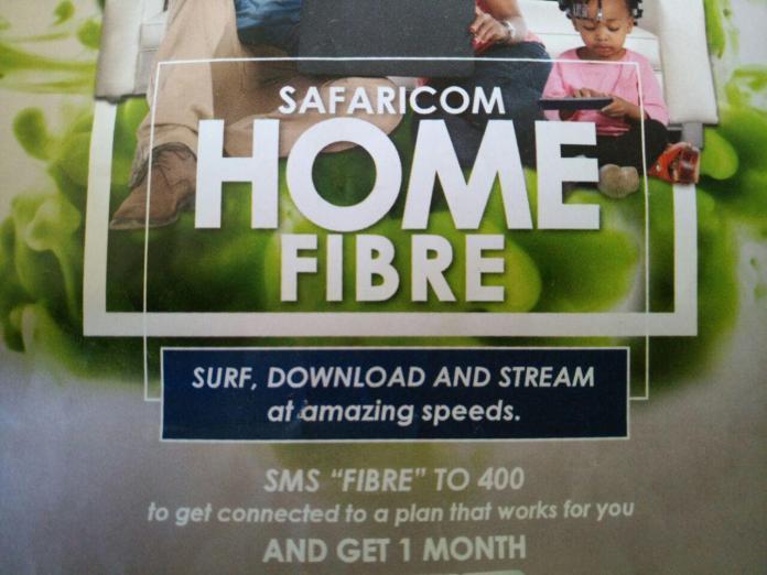 Safaricom Home Internet