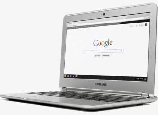 Chrome Browser Laptop