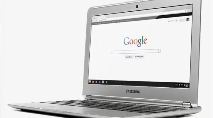 Chrome Browser Laptop