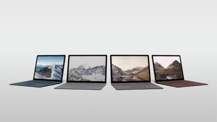Microsoft Surface Laptop Lineup