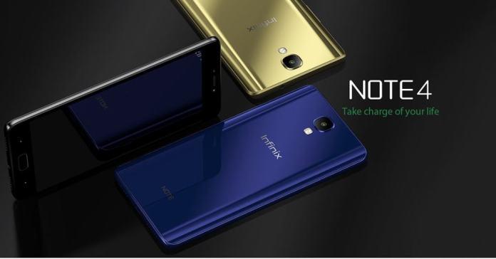 Infinix Note 4 Kenya
