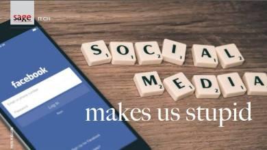 Social Media Makes Us Stupid