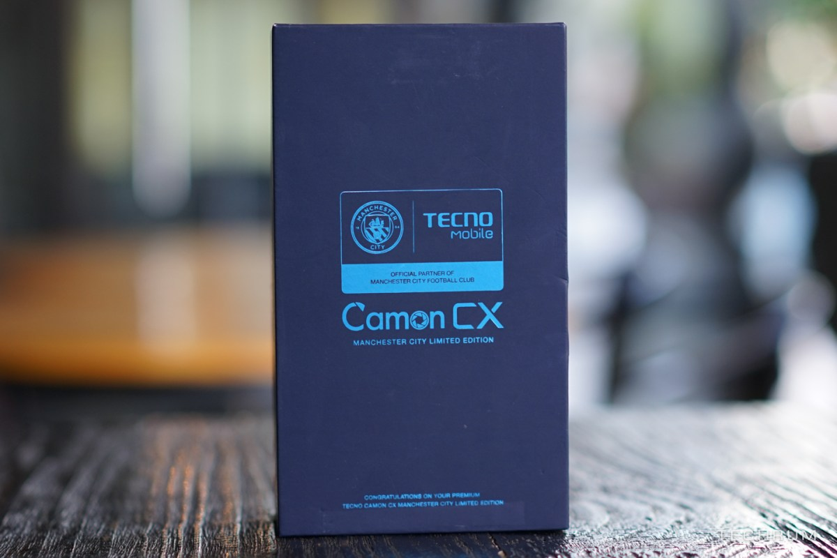 TECNO Camon CX Limited Edition; More RAM, Storage Plus Man City Logo