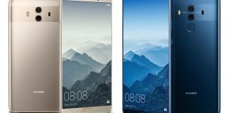 Kenya Huawei Mate 10 and Mate 10 Pro