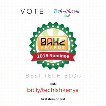 Blog Kenya BAKE Awards 2018