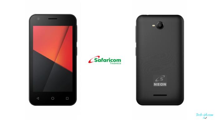 Neon Kicka Smartphone Safaricom