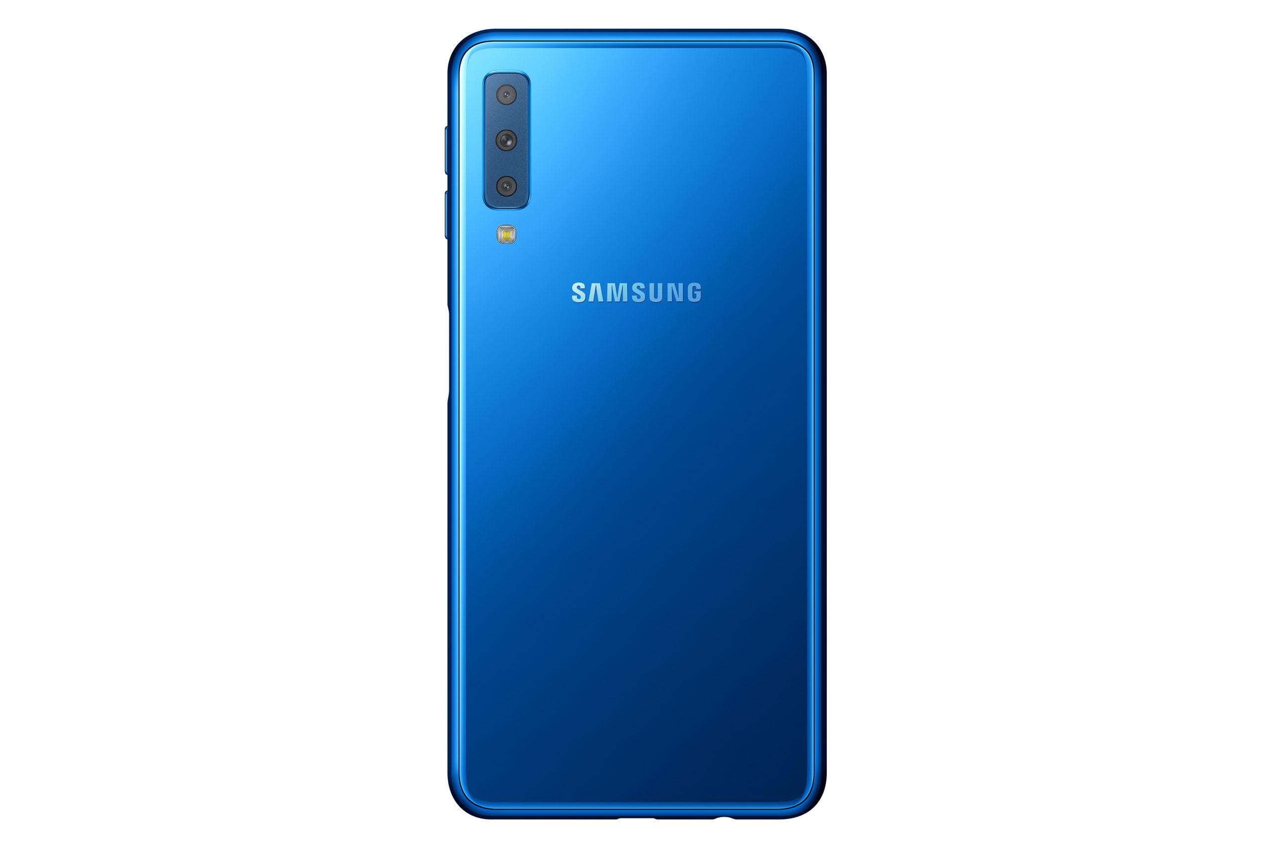 Samsung's Triple Lens Galaxy A7 starts selling in Kenya