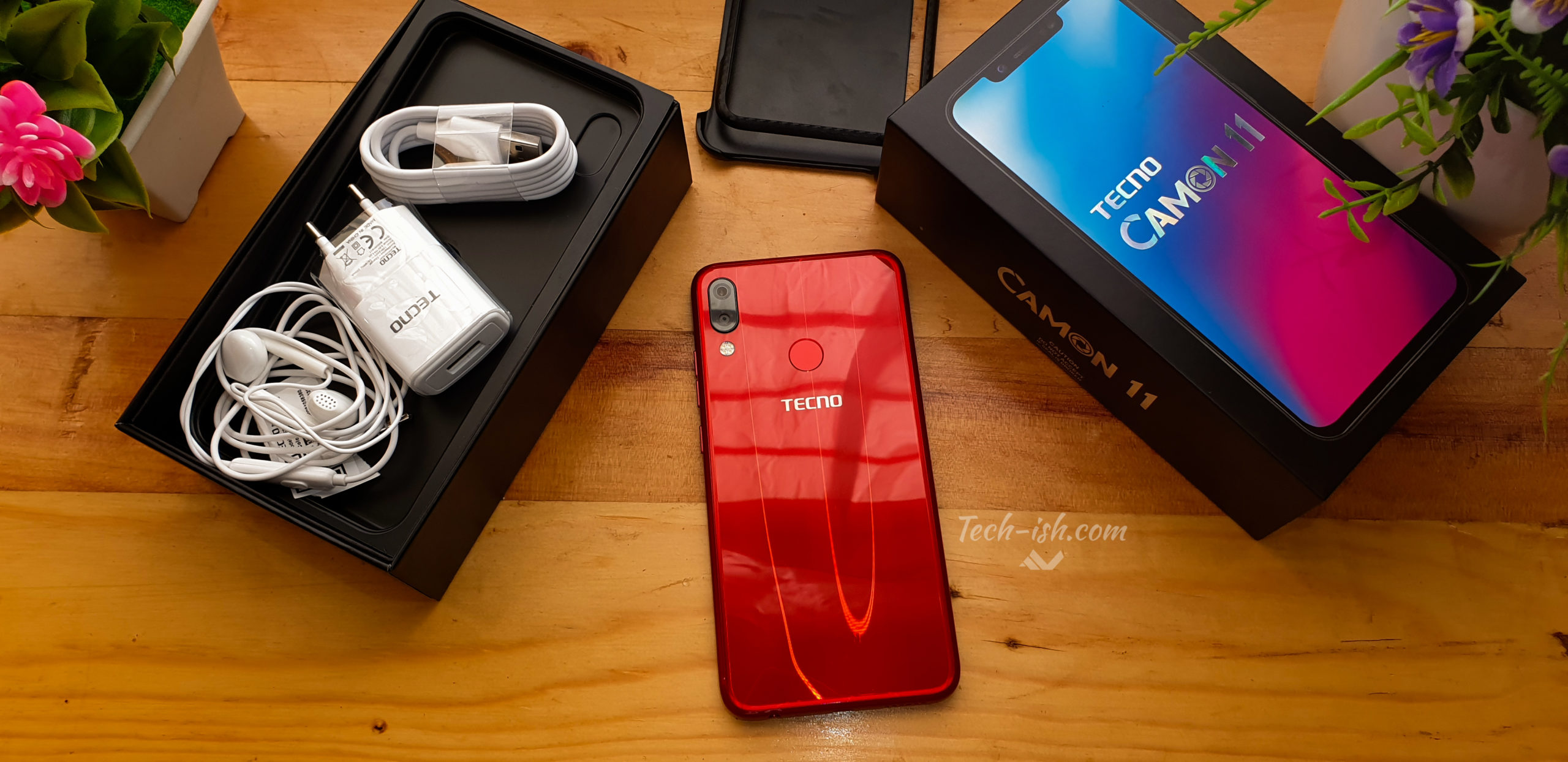 TECNO Camon 11: Unboxing and First Impressions | Techish Kenya