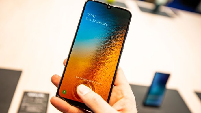 Galaxy A50 Under-the-display Fingerprint Scanner