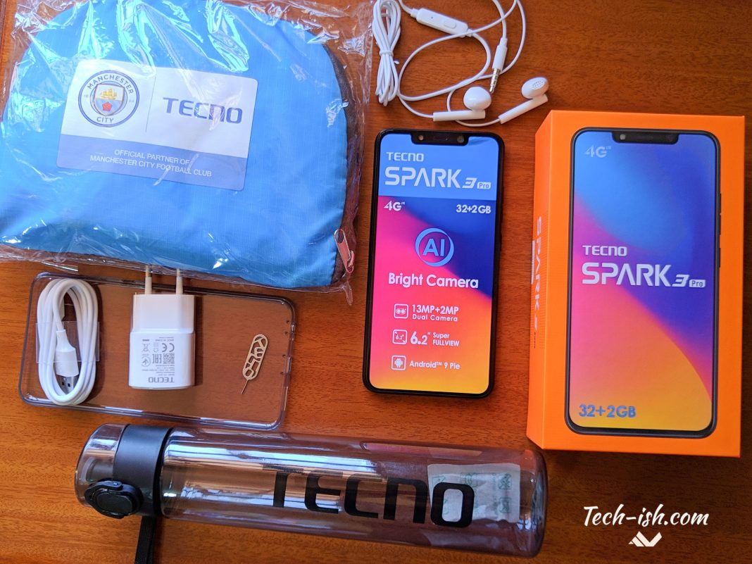 TECNO Spark 3 PRO unboxing