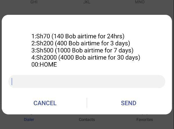 "Safaricom announces ""Kredo Dabo Dabo"" Double Airtime Offer The double airtime can be used across all networks for Calls, SMS and Data consumed out of Bundles."