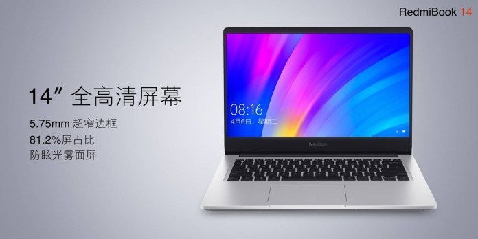 Xiaomi's Redmi is now making budget laptops: Enter RedmiBook 14