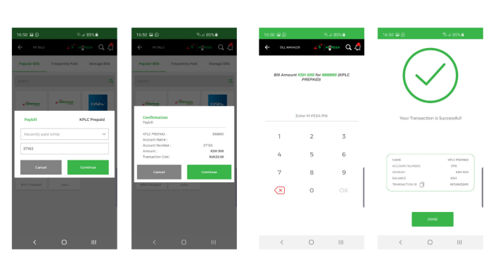mySafaricom now allows you to enter M-Pesa PIN within App
