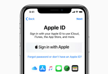 Sign in with apple WWDC 2019