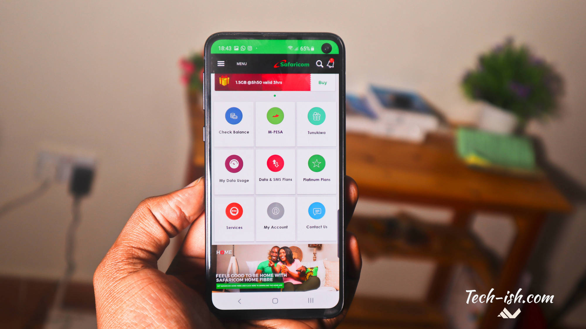 mySafaricom Update brings 'Send to Many', Newspapers and more