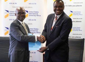 USIU CyberSecurity MOU Kenya