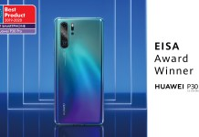 Huawei P30 PRO winner EISA Phone of the year