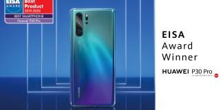 Huawei P30 PRO winner EISA Phone of the year