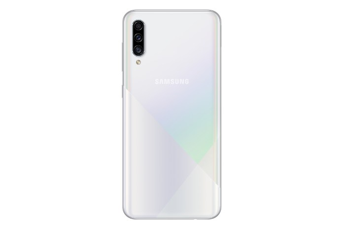Samsung Galaxy A30s White Back