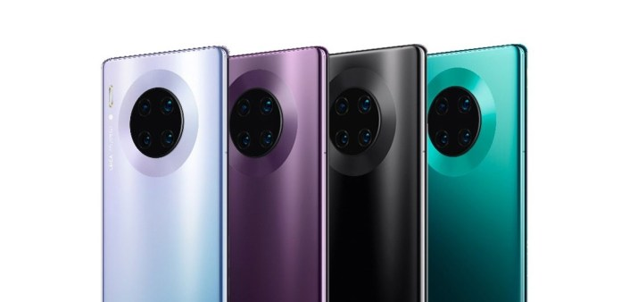 Huawei Mate 30 PRO features World's Most Sophisticated Cameras