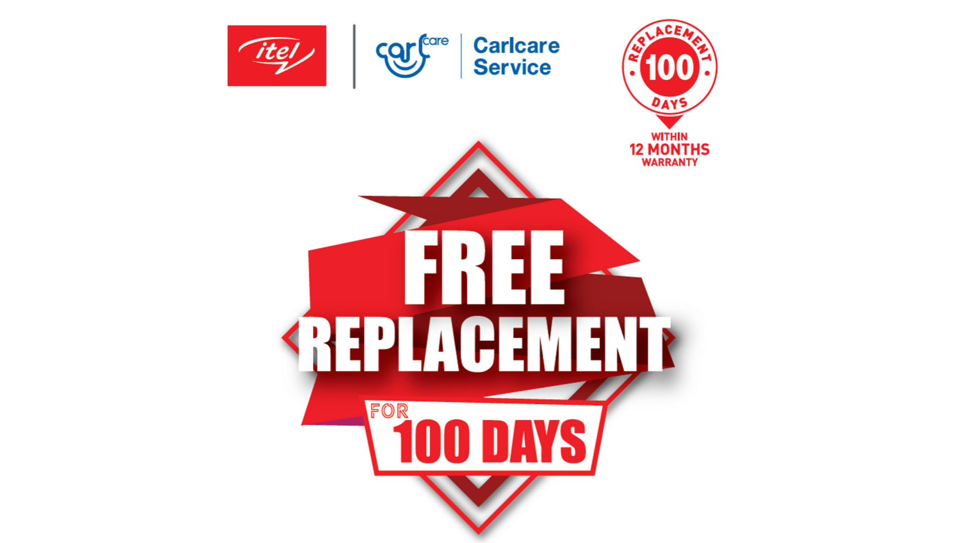 itel announces First 100 days Free Phone Replacement
