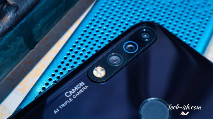 TECNO Camon 12 Review Cameras