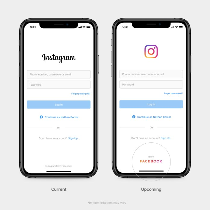 Instagram From Facebook LOGO